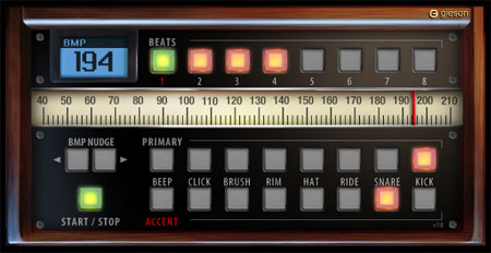 Gieson Online audio Metronome